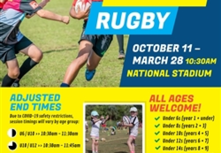 Sunday Rugby: Youth & Minis