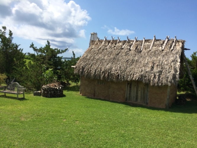 17th c Carter House; the 1612 Settlers Dwelling & 17th