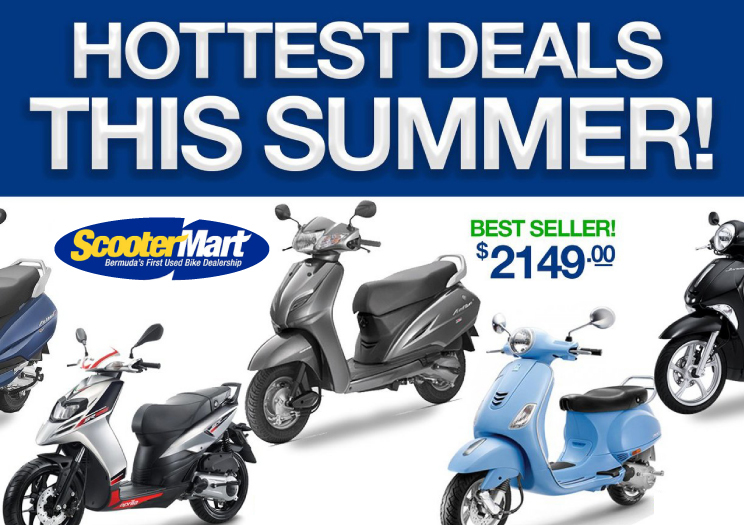 Scooter Mart Hot Bike Deals This Summer!