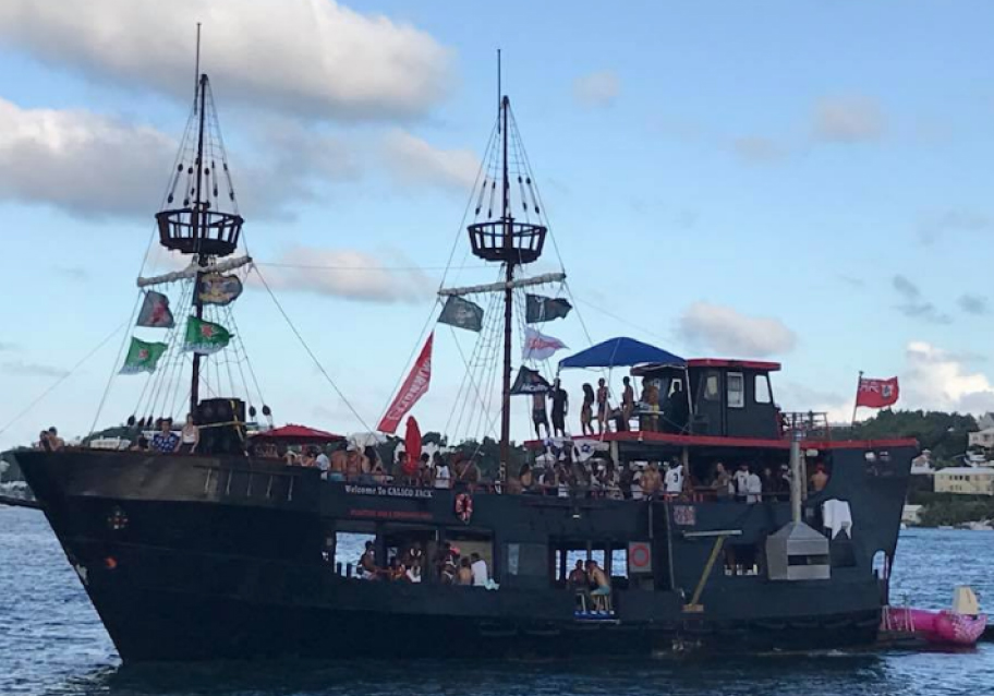 Calico Jacks Floating Bar