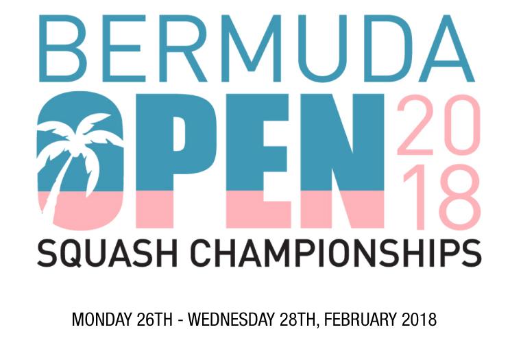 Bermuda Open Squash Championships 2018