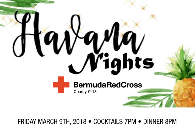 Cocktails, Dinner & Dancing at Hamilton Princess on March 9th
