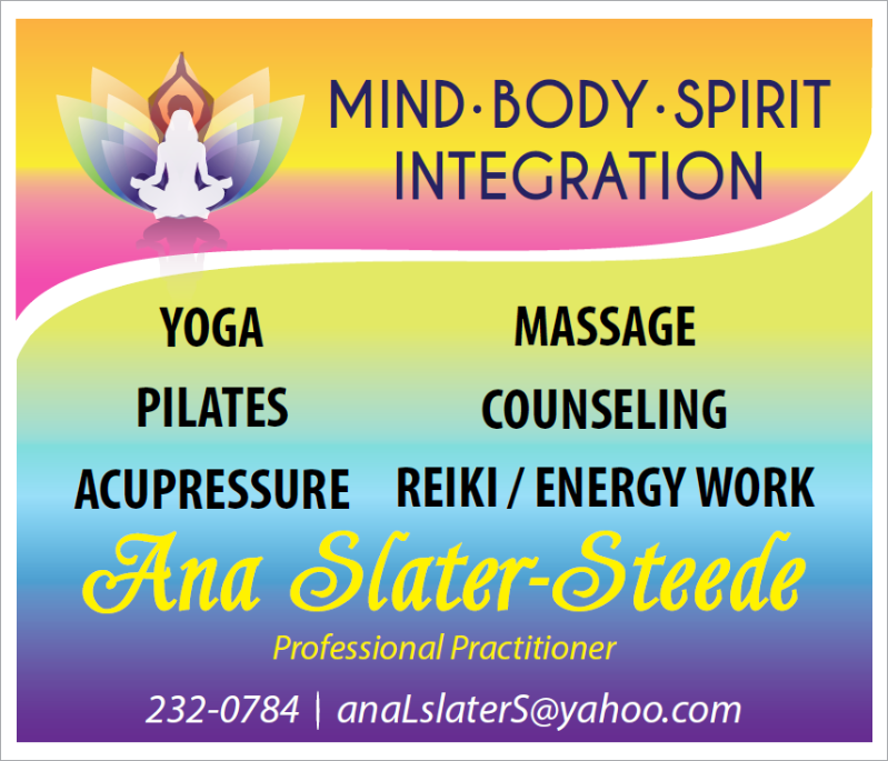 Ana Slater-Steede (Holistic Health Services)