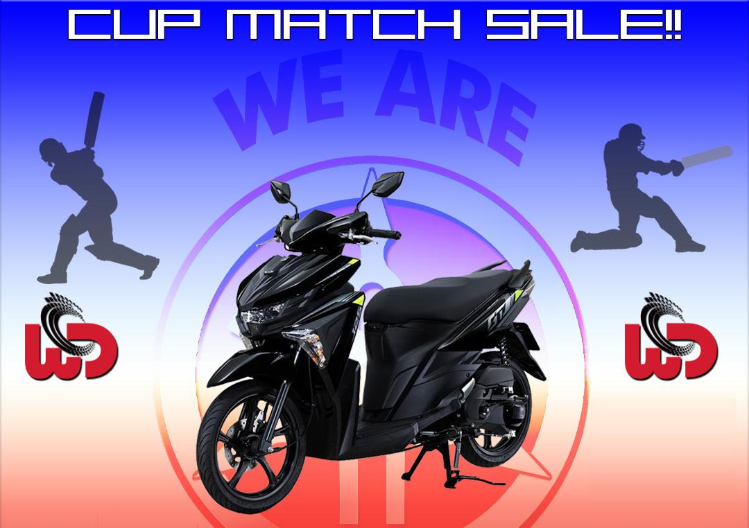 World Distributors Ltd. Cup Match Sale