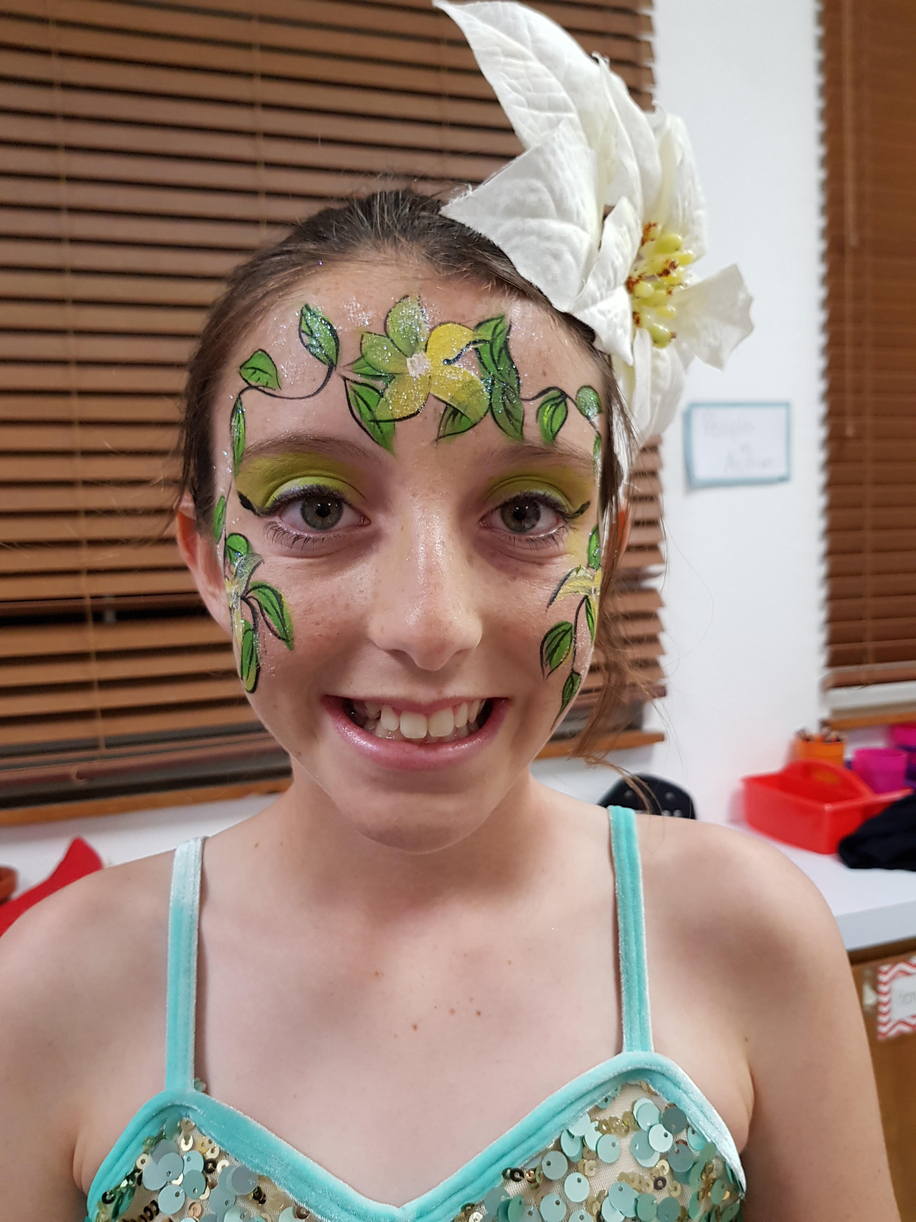 Artistic Fun Faces, Face Painting