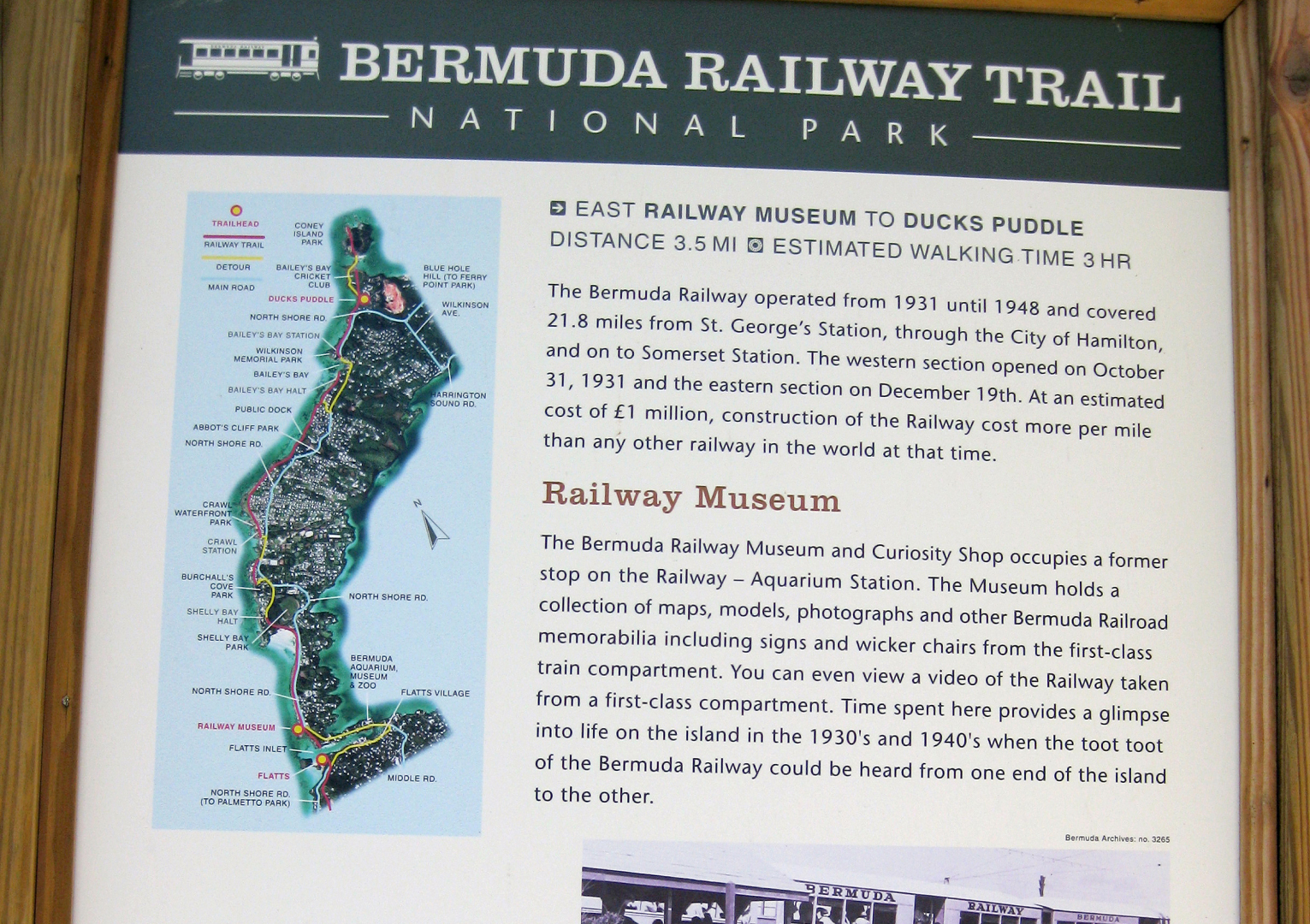 Bermuda Railway Museum/Curiosity Shop