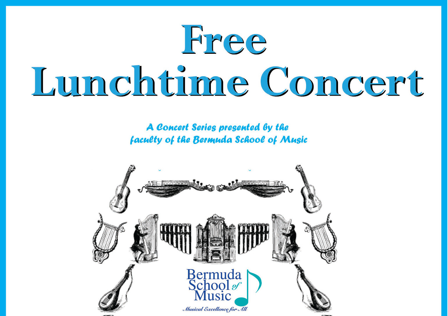 FREE Lunchtime Concert on Friday, March 10th