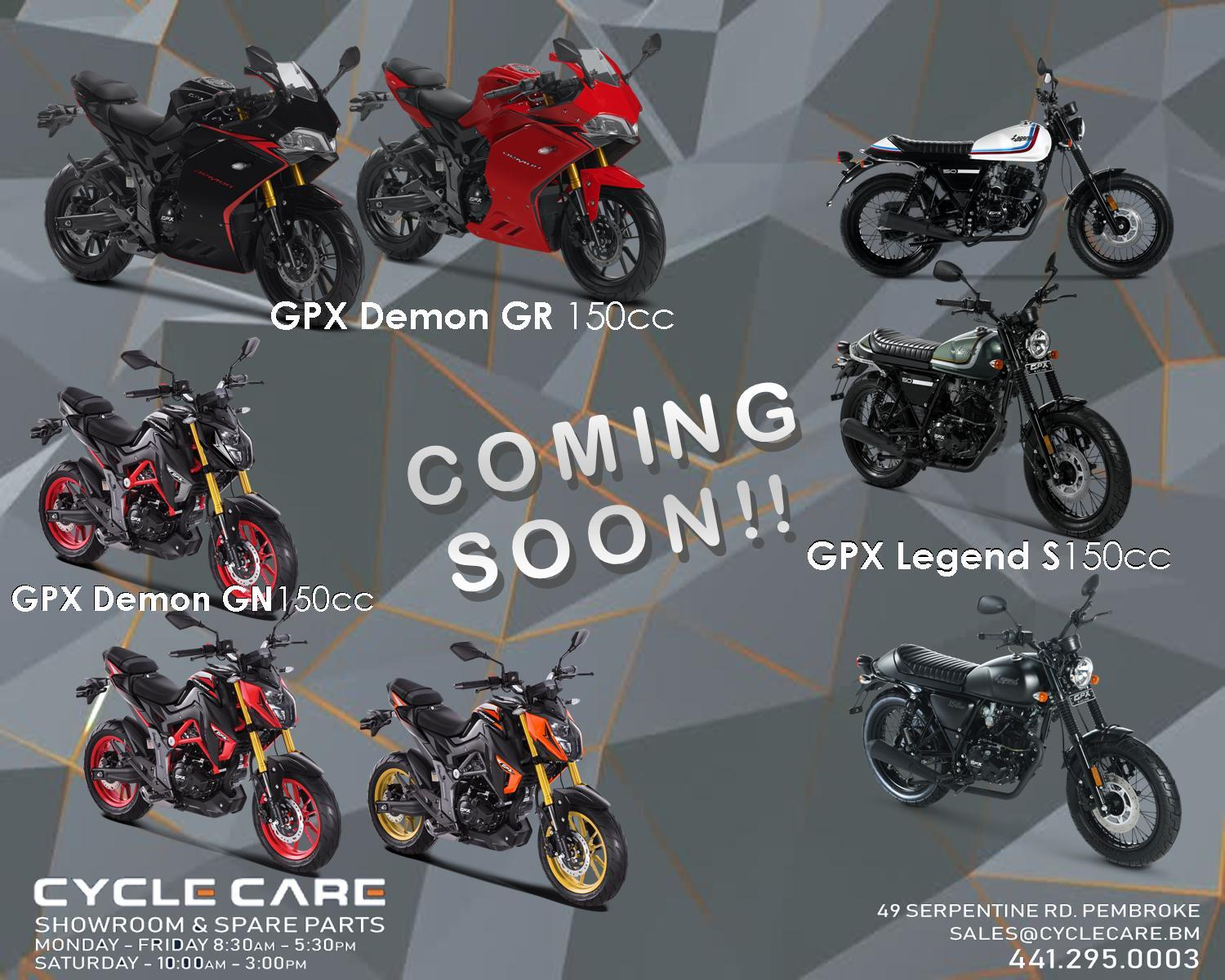 Cycle Care - New Bikes Coming SOON!
