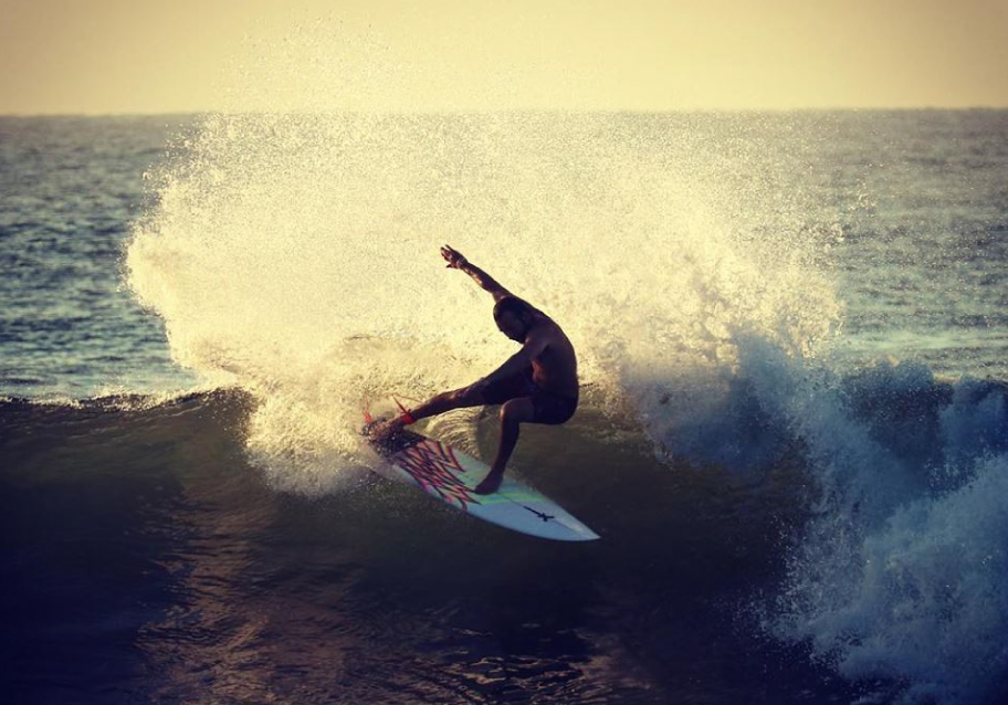 Isolated Surfboards