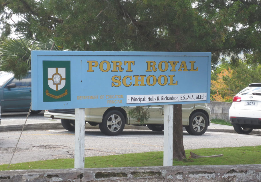 Government of Bermuda - Port Royal Primary School