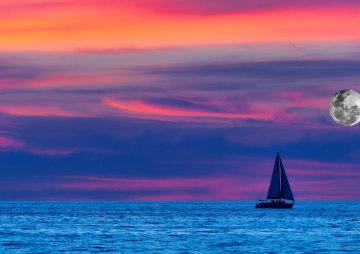 Ana Luna Full Moon Sailing 2021