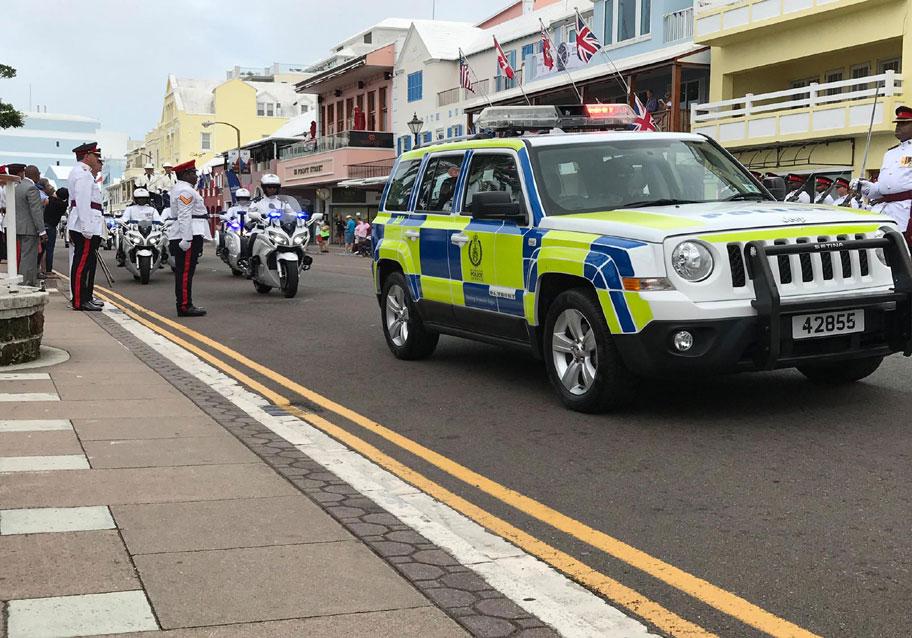 Bermuda Police Service Hamilton