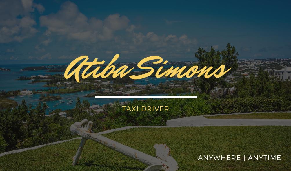 Atiba Simons Taxi Driver