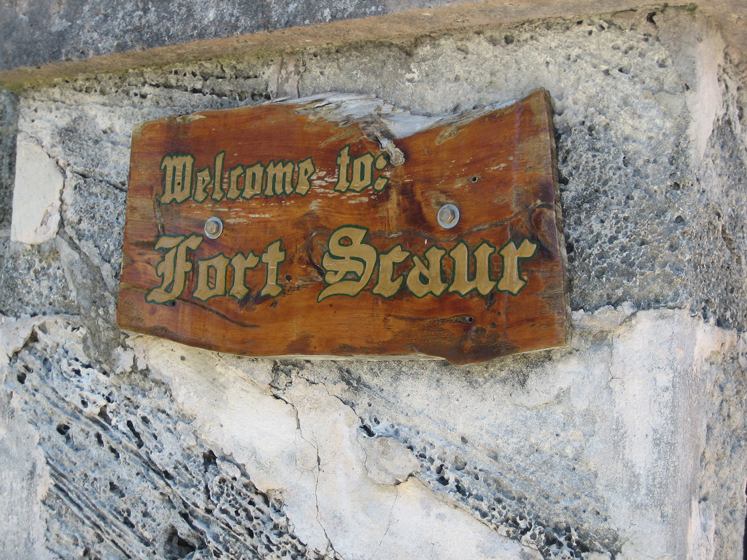 Scaur Hill Fort Park