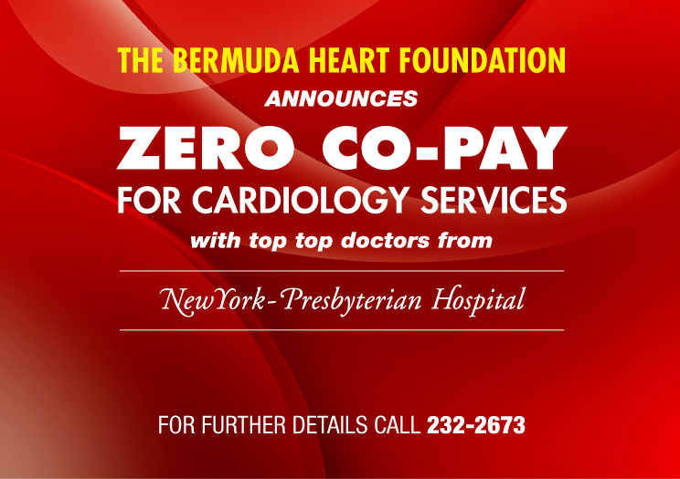 Bermuda Heart Foundation Announces Zero Co-Pay For Cardiology Services