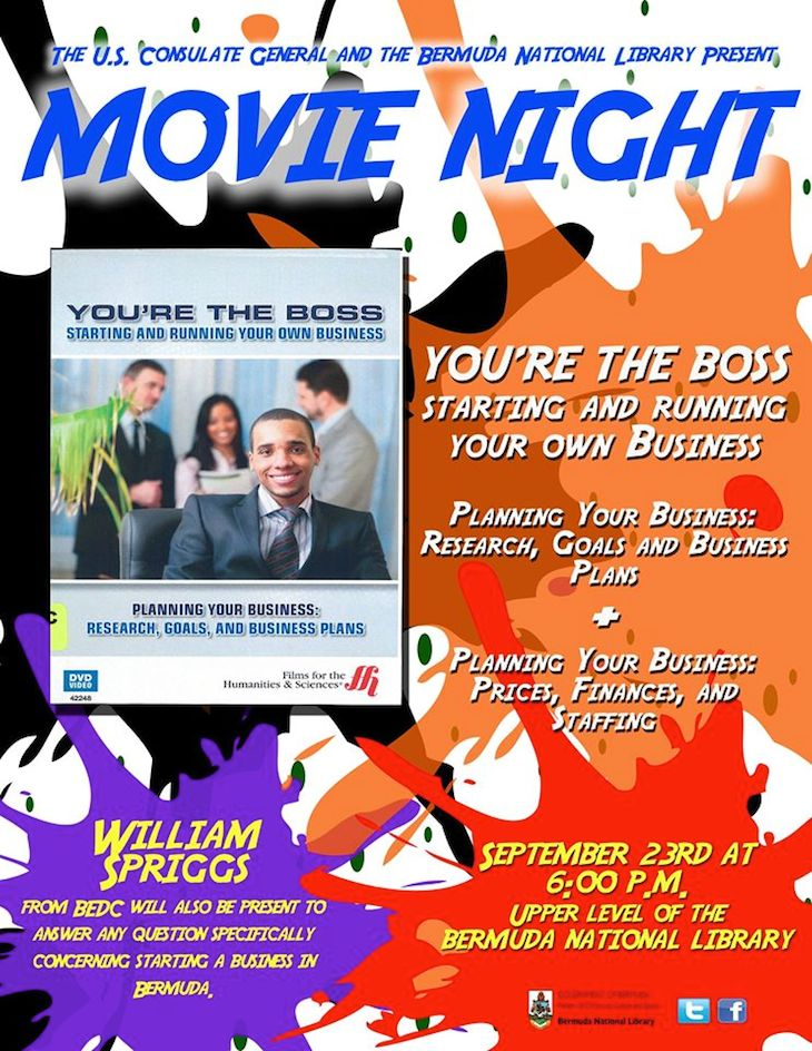 Bermuda Library Movie Night