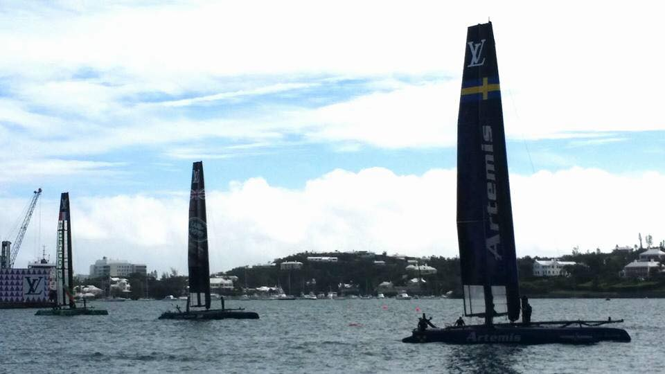 Getting Around During the America's Cup World Series bermuda yellow pages