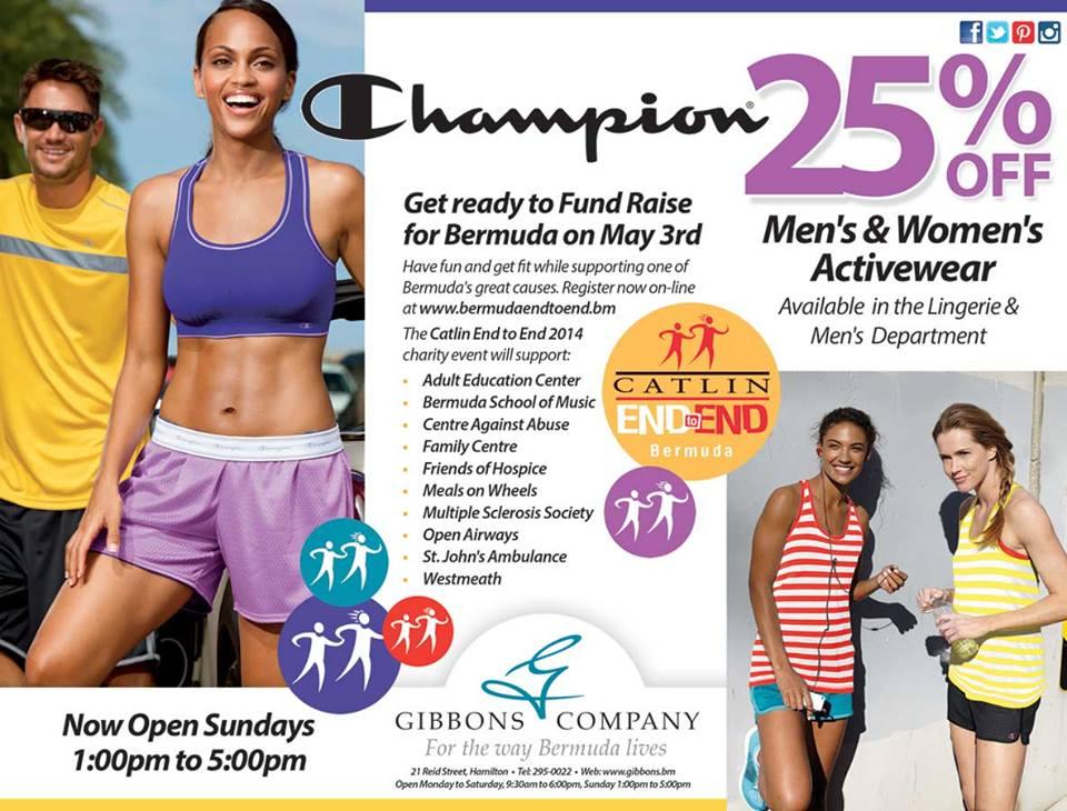 Bermuda Gibbons Company Activewear Sale
