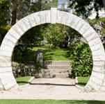 Bermuda moongate
