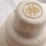 Bermuda wedding cake