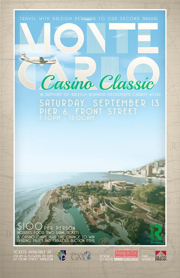 Raleigh Bermuda Monte Carlo Casino