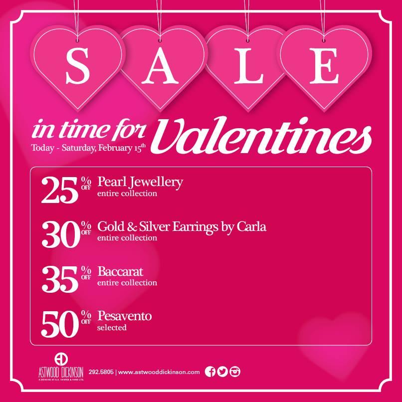 Bermuda Astwood Dickinson Valentines Sale