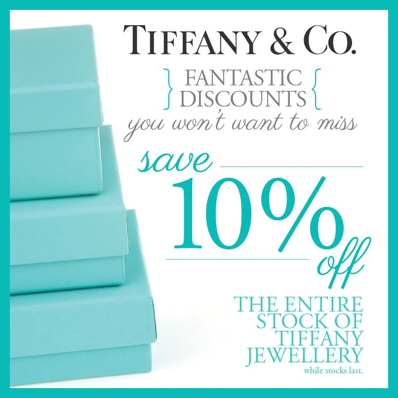 tiffany and co sale