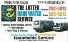 Latter Rain Water Service, The