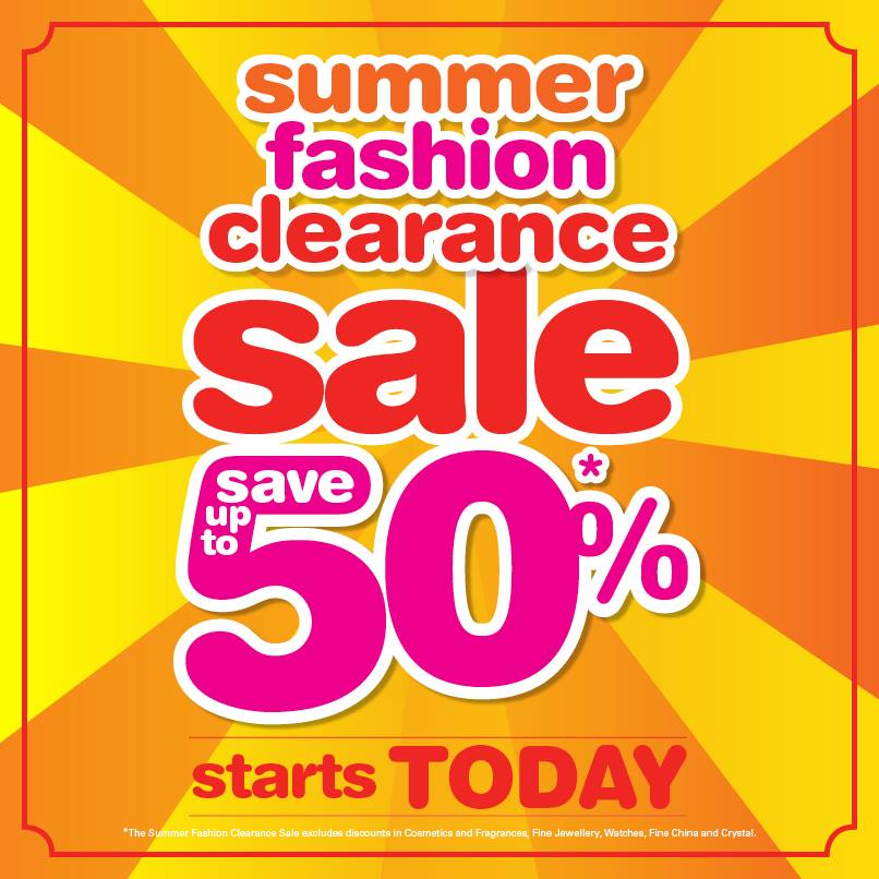 Bermuda A.S. Coopers Summer Fashion Clearance Sale