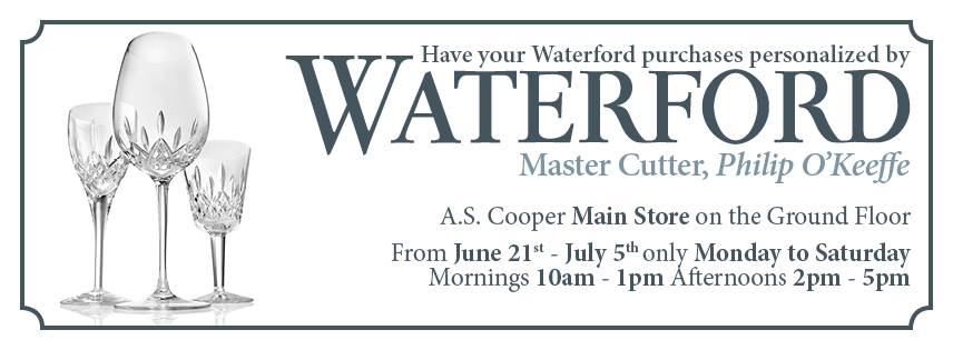 Bermuda A.S. Coopers Waterford Personalization
