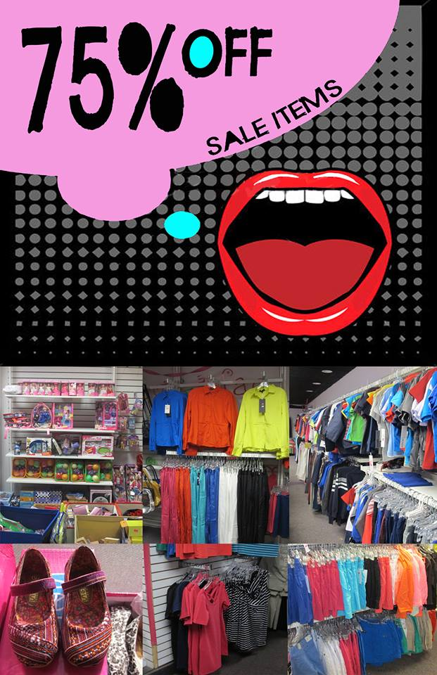 Bermuda Daisy's 75% Off Sale Items