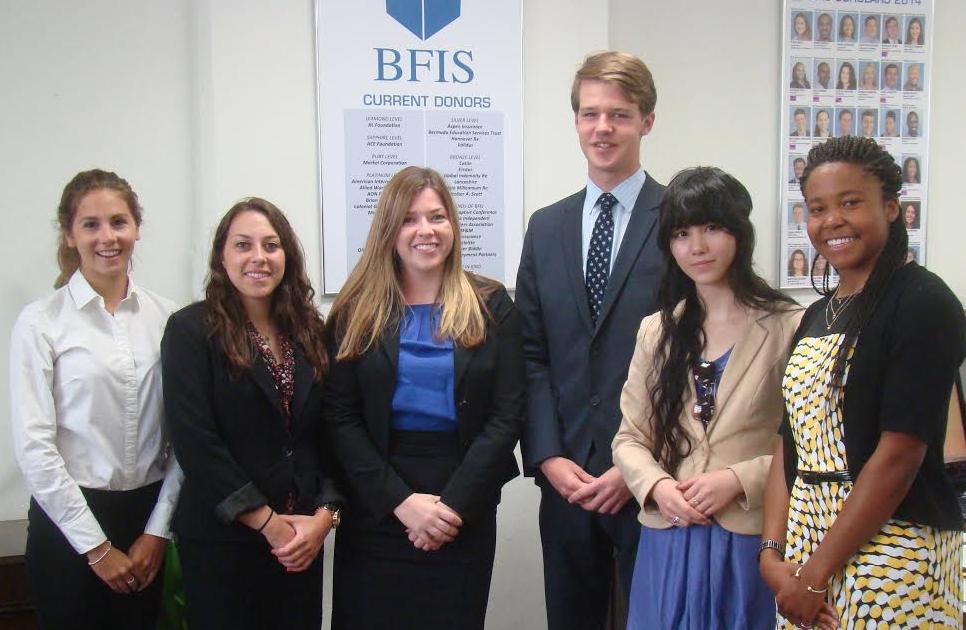 BFIS intern programme bermuda