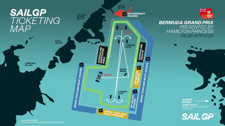 SailGP Bermdua Course