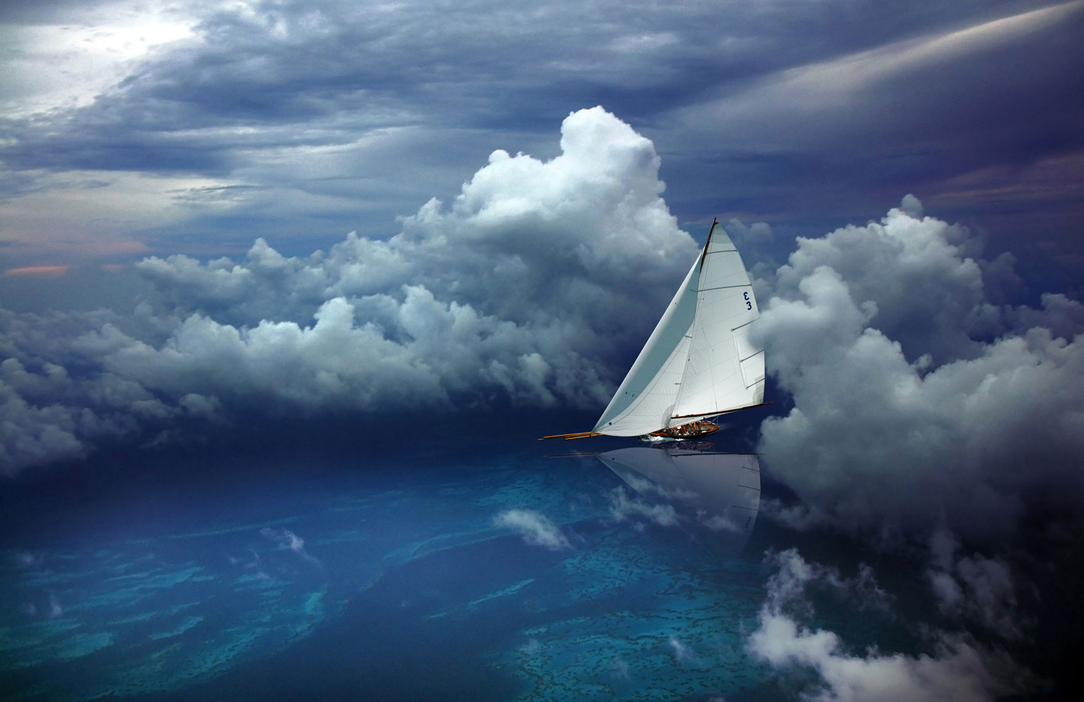 Dream Sailing by Peter Matcham