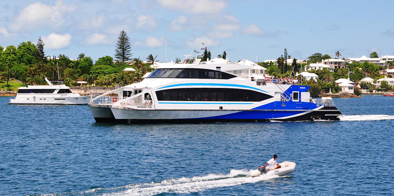 Bermuda Temporary Ferry Schedules COVID-19
